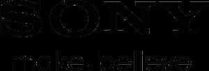 sony logo font usage